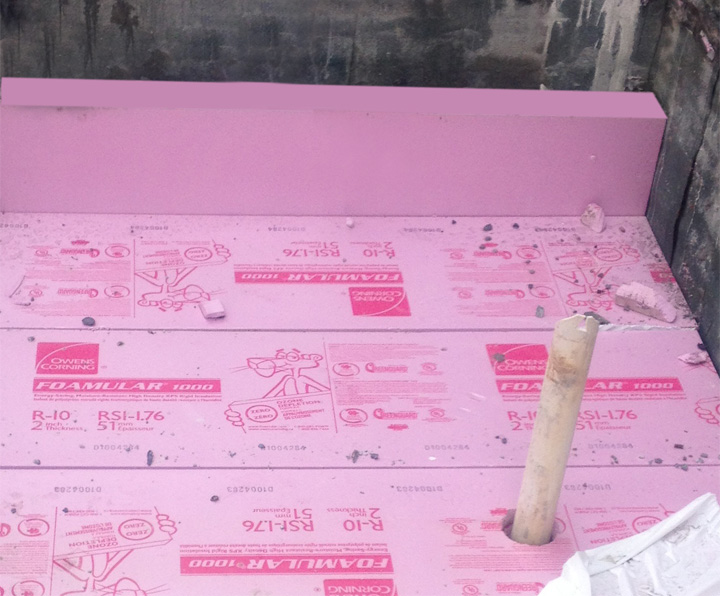Distributor Of Foamular Xps Rigid Foam Insulation Board