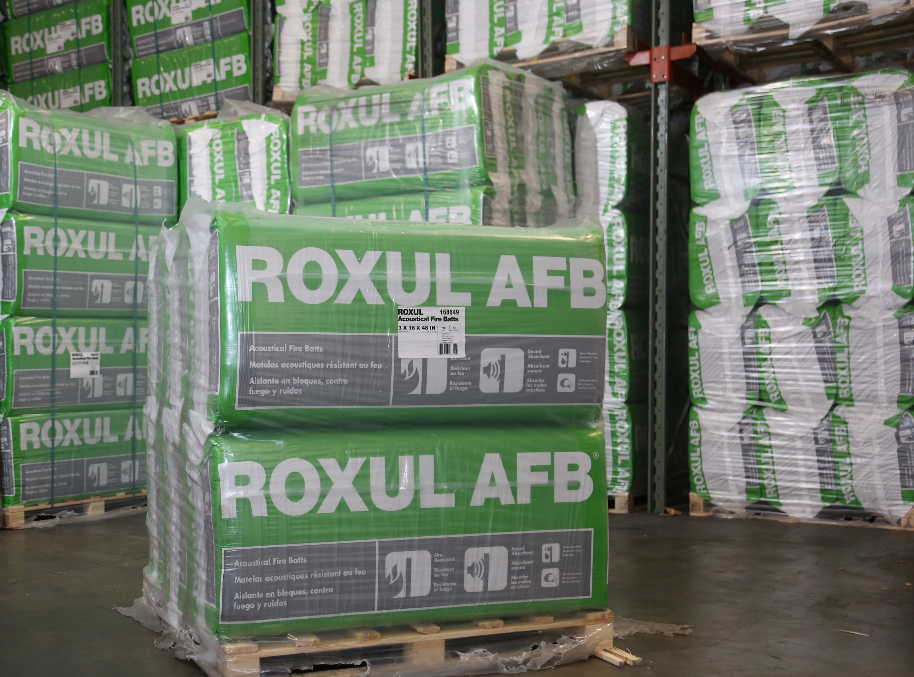 Roxul mineral wool lnsulation building materials for Roxul mineral wool r value