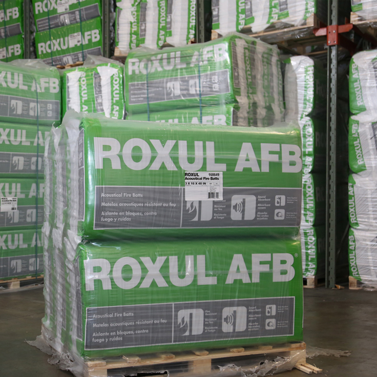 Roxul mineral wool lnsulation building materials for Roxul foil faced mineral wool